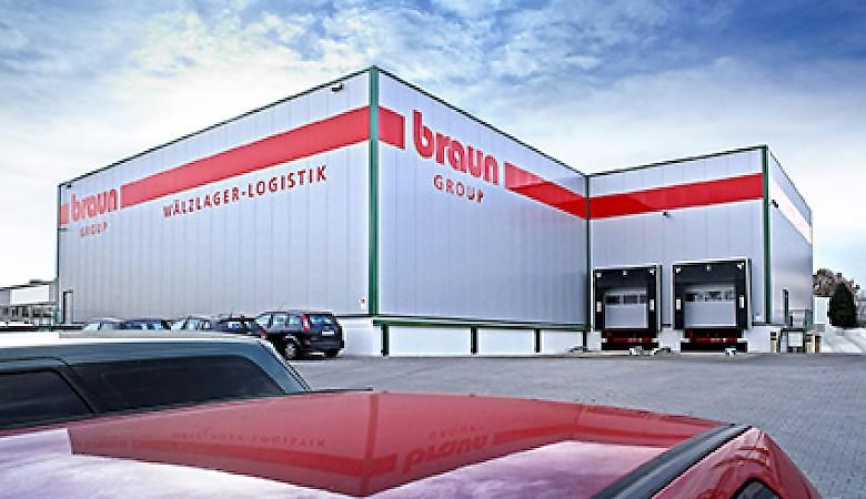 Unternehmensgebäude der Friedrich Braun GmbH